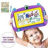 Lavagna Magnetica per Bambini 2, 3, 4 Anni, Lavagnetta Magica Cancellabile con Schede Schizzo e Album, Giocattoli Educativi, Portatile,