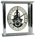 Acctim 36507 Malvern Reloj de chimenea, color plateado