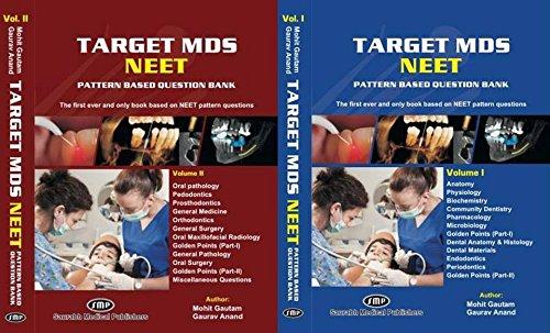 TARGET MDS NEET Pattern Question Bank 2 vol set