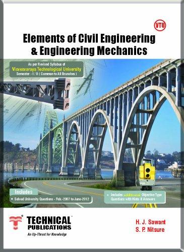 Elements of Civil Engineering & Engineering Mechanics Semester - I / II...