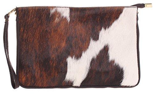 Big Handbag Shop, Borsetta da polso donna One Pony - Design 1