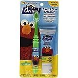 Baby Orajel - Elm - O Bright - Dentifrice Parfum Banane Pomme - Kit De Nettoy...