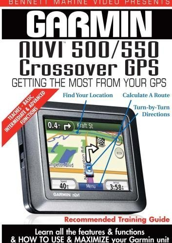 Garmin Instructional Training DVD: NUVI 500 / 550 Crossover GPS by James Marsh Garmin Video-training, Gps