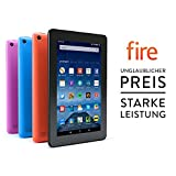 Fire-Tablet, 17,7 cm (7 Zoll) Display, WLAN, 8 GB (Schwarz) - mit Spezialangeboten