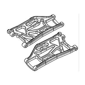 Carson 500405313-Accesorios de construcción: fy8Brazo de suspensión Delantero Izquierda/Derecha, 2Unidades