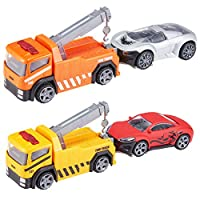 Teamsterz Die-cast Recovery Tow Truck Playset | Kids Metal Racing Car Recovery Toy Great For Children Aged 3+
