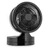 Klarstein Touchstream Tischventilator Mini Ventilator schwarz
