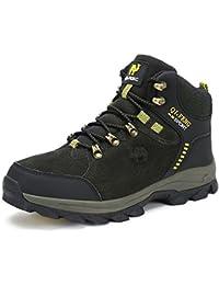 MHSXN Scarpe da Trekking da Escursionismo Uomo Scarpe da Trekking Traspiranti da Indossare Casual Scarpe da Montagna da Uomo Che Viaggiano Quotidianamente Uso…