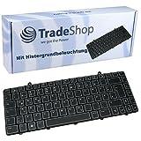 Original Tastatur mit Hintergrundbeleuchtung QWERTZ Deutsch für Dell Alienware M11 M11X M11X-R1 M11X-R2 M11x-R2 M11X-R3 M11x-R3 R2 R3 20120200332 04YP7H (Deutsches Tastaturlayout)