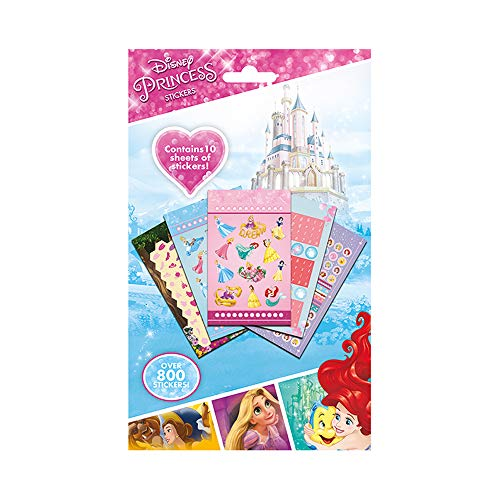 Ariel Scrapbooking (Disney Princess Pack of Over 800 Vinyl Stickers)