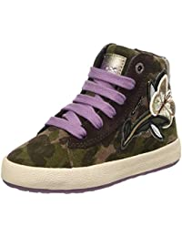 Geox Mädchen Jr Witty F Hohe Sneakers