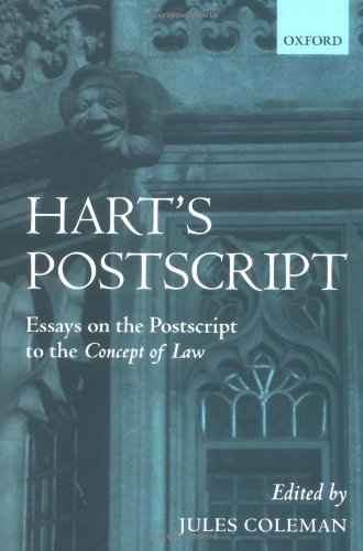 Hart's PostScript: Essays on the PostScript to the Concept of Law