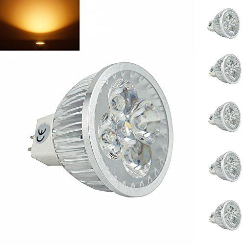 bonlux-5-packs-4w-mr16-g53-ampoules-a-led-blanc-chaud-3000k-35w-halogene-equivalent-60-degrees-12v-g