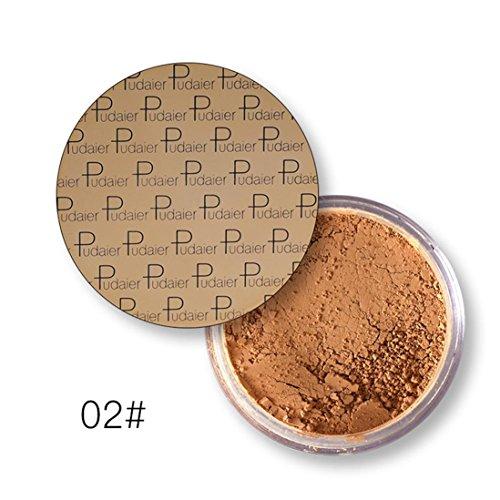 Bronze Loose Powder (Shage Haut Gemachtes Make Uppulver Mattpulver Loses Pulver (B))