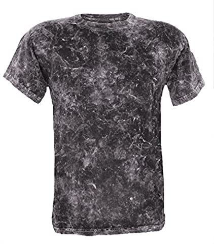 Tie Dye Acid Wash T-Shirt 4XL