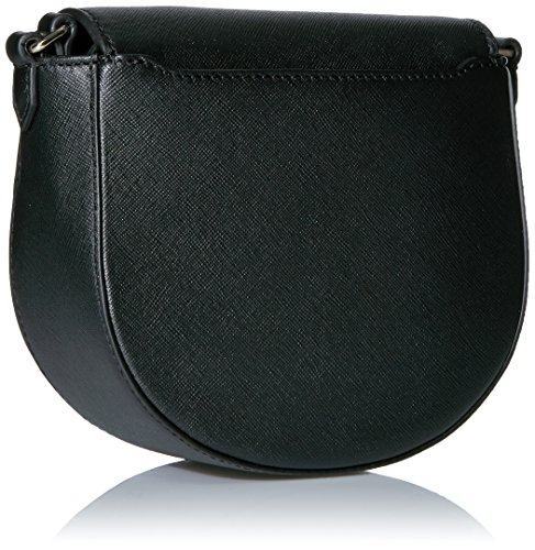 Ecco - Ecco Iola Small Saddle Bag, borsa a tracolla Donna Nero (Black)