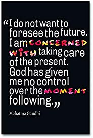 Tamatina Wall Poster | Inspirational Thoughts | Mahatma Gandhi | Motivational Quotes | School | Hostel| Colleg