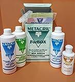 teuco Set von produkte spezielle für die Wartung von Box Dusche mit Massage und Sauna in Acryl und Kristall