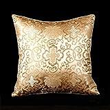 Lorenzo Cana - Home Edition - Marken Kissenhülle aus Seide Gold Beige Barock Kissenbezug - 96007