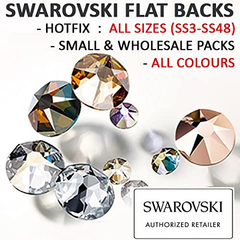SWAROVSKI Crystal Flat Backs/Rhinestones *SS20 (4.7mm) *LIGHT COLORADO TOPAZ *HOTFIX *Pack of 1440 Crystals Wholesale *Genuine #2078 Xirius