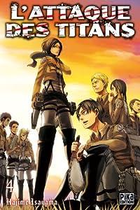 L'Attaque des Titans Edition simple Tome 4