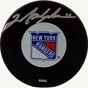 Steiner-Puck NHL New York Rangers-Messier Rangers Autogramm