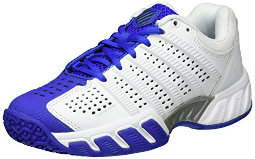 K-Swiss Performance Unisex-Kinder Bigshot Light 2.5 Omni JR Tennisschuhe, Weiß (White/Electricblue/Dressblues), 38 EU
