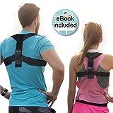 NeedActive Geradehalter zur Haltungskorrektur - Rücken Schulter  - Rückenhalter - Aufrechte haltung für Damen und Herren