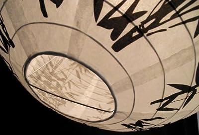 Lampe Papier Lampion 03 Bambus von mo-dance bei Lampenhans.de