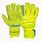 Reusch Fit Control G3 Fusion Evolution Gants de Gardien de But pour Homme M Lime/Safety Yellow