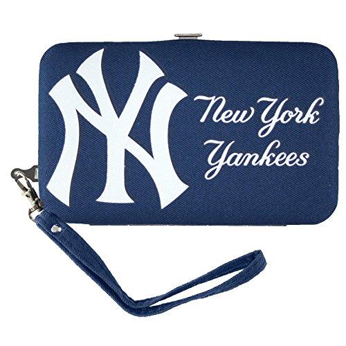 MLB Shell Wristlet, blau, 3.5 x 0.5 x 6-Inch - 6-zoll-decal