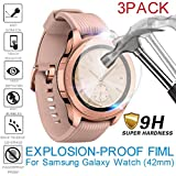 TPU Displayschutzfolie, Display Schutz Folie Tablet, Full Cover Film, Explosionsgeschützte, für Samsung Galaxy Watch, 42mm, 6 Pack (3 Pack)
