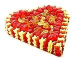 Fruchtgummi Herz roter Traum Menge:800g