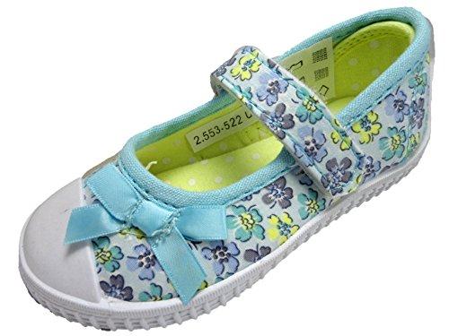 infant-girls-childrens-floral-bow-canvas-velcro-pump-trainer-shoes-4-12-8-infant