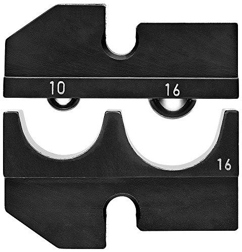 Knipex 97 49 16 Profil de sertissage pour cosses et connecteurs isolés, Noir