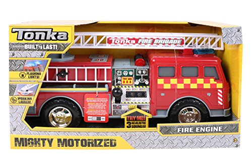 Tonka 07766 Mighty Motorized UK - Juguete para Bomberos