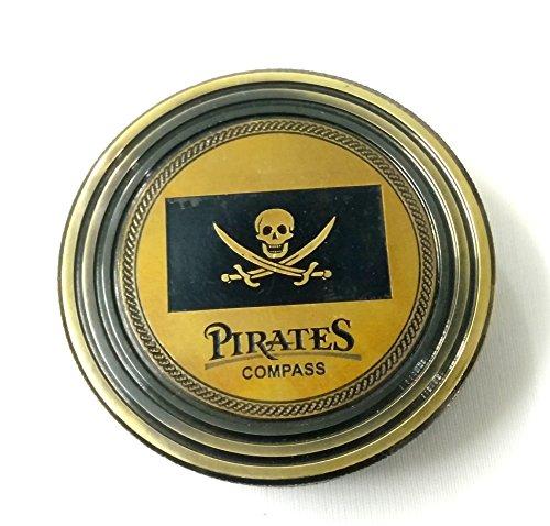 artshai Pirat basierend Antik Look magnetisch Kompass. Geschenke Sailor basierend Richtung Finder Richtung Finder