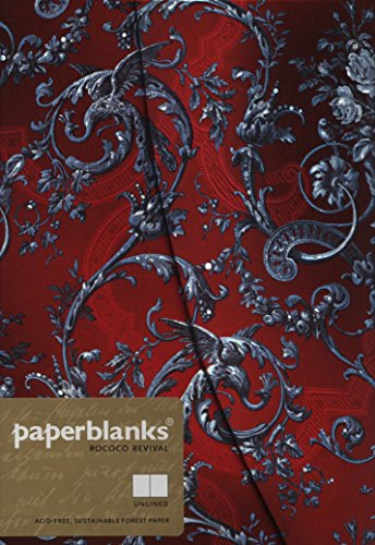Rokoko Revival Zauberhafter Abend - Notizbuch Midi Unliniert - Paperblanks