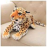 BBSJX Simulation Tiger/Leopard Plush Toys Doll Lying Squatting Posture Genuine Kid