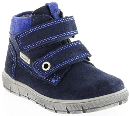 Richter Kinder Lauflerner Velourleder blau Sympatex Jungen Schuhe 1134-242-7201 Atlantic Info S, Farbe:blau, Größe:21