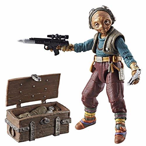 Star Wars The Black Series - Maz Kanata Personaggio Action Figure 15cm da Collezione con Accessori