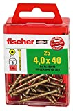 Fischer Power-Fast, 4,0 x 30, Halbrundkopf blau verzinkt PZ Box, 652854