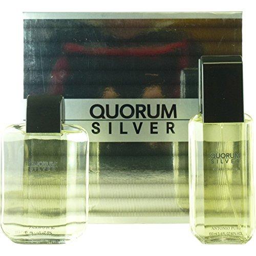 QUORUM SILVER Gift Set QUORUM SILVER by Antonio Puig by QUORUM SILVER