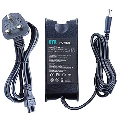 Dtk® Ac Adapter Laptop Computer Charger / Notebook Pc Power Supply Source Plug for Dell n4050 n5010 M4300 M1210 OEM High Quality Output: 19.5V 4.62A 90w Power cord included PA-1900-02D PA-3E PA-10