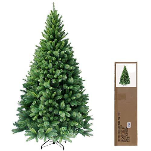 RS Trade 150 cm ca. 620 Spitzen hochwertiger künstlicher Weihnachtsbaum mit Metallständer,...