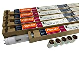 5er Pack OSRAM Substitube 20W T8 / LED-Röhre in 120cm Länge, Warm weiß