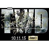 "The Walking Dead Poster Photo 12x8"" Signed PP Cast Robert Kirkman Andrew Lincoln Norman Reedus David Morrissey Danai Gurira JDM Steven Yeun Negan"