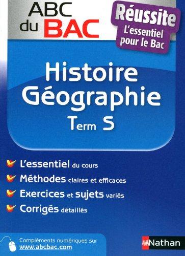 ABC BAC REUSSITE HISTOIRE GEO