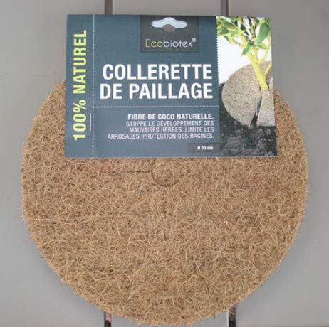 Disque de Paillage Coco Ø 20cm DCOCO20x1 - lot de 1