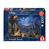 Schmidt Thomas Kinkade: Disney - The Beauty And the Beast Jigsaw Puzzle (1000-Piece)